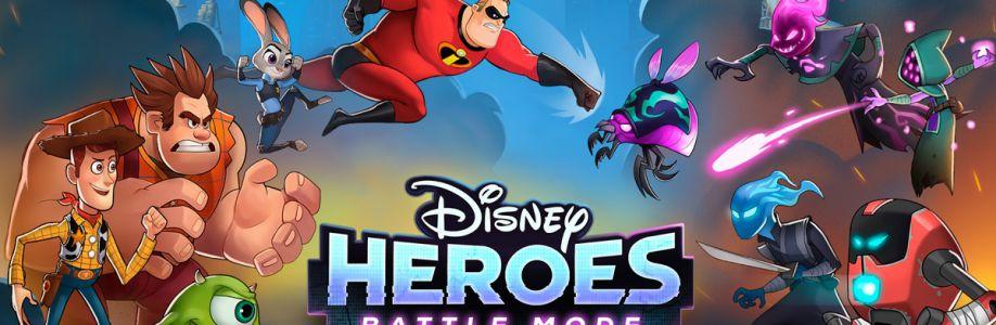 Disney Heros Cover Image